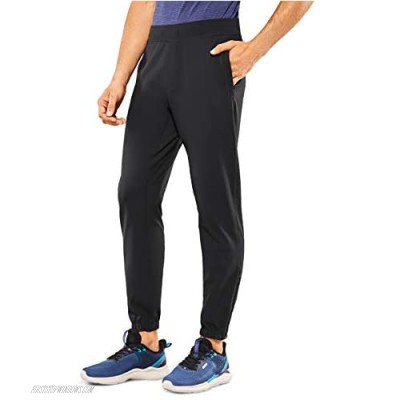 CRZ YOGA Men's Lightweight Elastic Stretchy Jogger Pants with Side Pockets - 30 inches