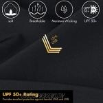 BALEAF Men's 8 Athletic Workout Running Shorts Quick Dry Zipper Pockets Gym Short Unlined UPF 50+