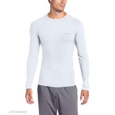 Columbia Men's Baselayer Midweight Long Sleeve Top White XX-Large