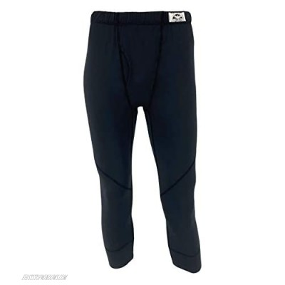 CORBEAUX Men's 3/4 Centennial Pant Baselayer for Skiing and Snowboarding