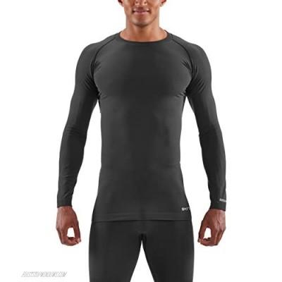 Skins Men's DNAmic Base Mens L/s Top Black M Black Medium