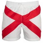 Meripex Apparel Men's Alabama Flag Swim Trunks: AL