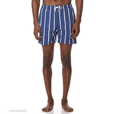 Solid & Striped Men's The Classic Slate Bondi Stripe Trunks