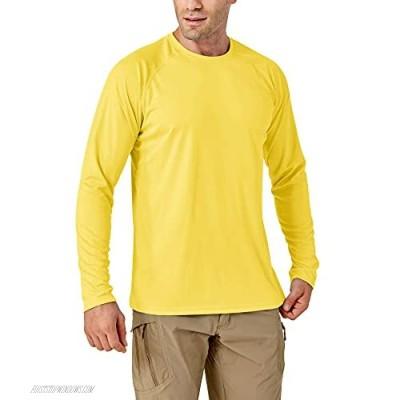 TACVASEN Men's Shirts-UPF 50+ UV Sun Protection Long Sleeve Shirts Quick-Dry Outdoor T-Shirt