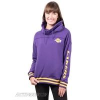 Ultra Game womens Fleece Hoodie Pullover Sweatshirt Funnel Neck