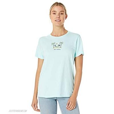 Life is Good Womens Zero Tasking Crusher T-Shirt