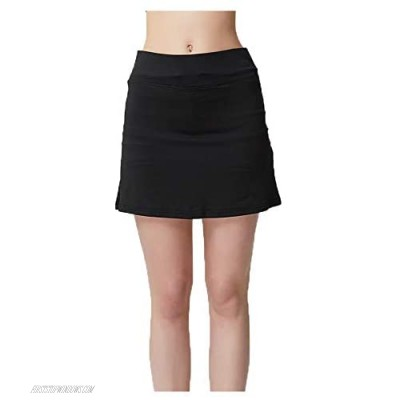 Lghxlxry Women's Athletic Golf Skorts Lightweight Pleated Sports Running Yoga Skirts with Pockets