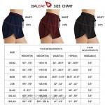 BALEAF Women's 3 Quick Dry Mesh Summer Shorts Beach Board UPF50+ Swim Bottom