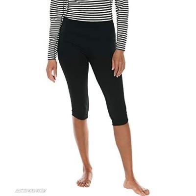 Coolibar UPF 50+ Women's Tulip Swim Capris - Sun Protective
