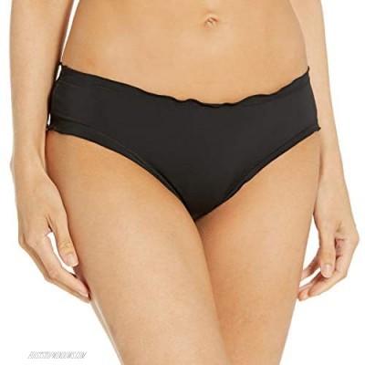 Hobie Junior's Ruffled Solid Hipster Bikini Bottom