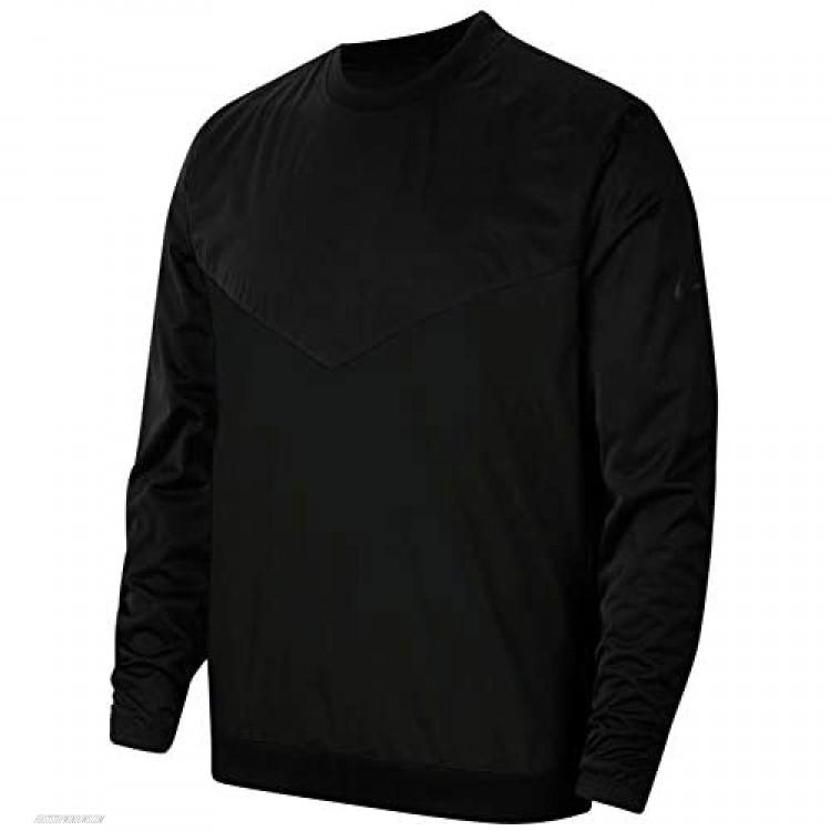 Nike Shield Victory Mens Golf Crew Shirts Ci8986-010