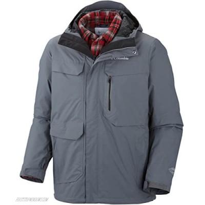 Columbia Men's Back To Hells Mountain Interchange Jacket