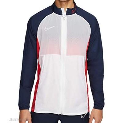 Nike Academy Men's Soccer Lightweight Full Zip Shell Jacket Large