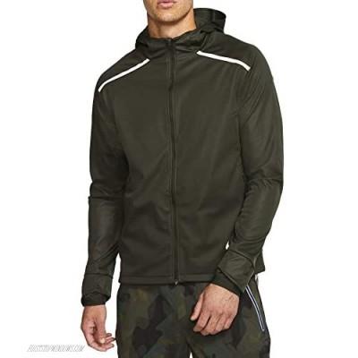 Nike Men's Hooded Running Jacket Shield Bv4880-355