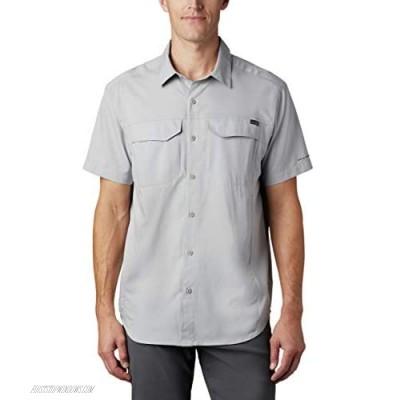 Columbia Men's Silver Ridge Lite Short Sleeve Wicking Shirt Columbia Grey 1X