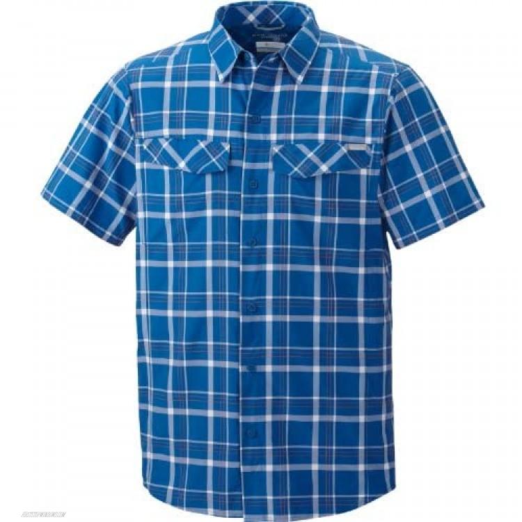 Columbia Men's Silver Ridge Multi Plaid Short Sleeve Shirt